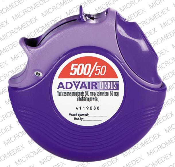 Advair Diskus 500 50