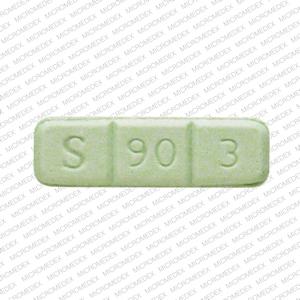 S 90 3 Green Bar Mg >> Alprazolam